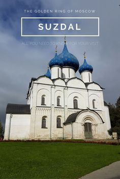 Discover the most beautiful town of Moscow's Golden Ring: Suzdal. We wrote a blog post about the unique monasteries, churches, how to get there from Moscow and where to stay. Suzdal is great so go discover!