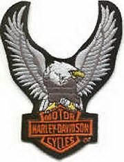 Harley Eagle Patch 7cm Harley Davidson Patches, Cool Patches, Collection