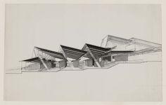 Renderings, Paul Rudolph - Atlas of Places