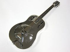 Gold Tone Steel Roundneck Resonator Acoustic Guitar & Case, Paul Beard Dobro Grs - http://www.dobroguitar.org/for-sale/gold-tone-steel-roundneck-resonator-acoustic-guitar-case-paul-beard-dobro-grs/21088/