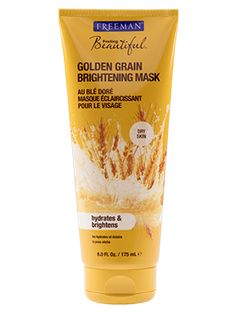 Golden Grain Brightening Mask from Freeman | Find more cruelty-free beauty @Quirkist |