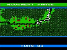 NAM strategy game, footage for Apple II, I played it on C64