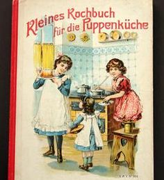 Small cookbook for the dolly kitchen**