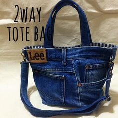 Great way to use up hubbies old jeans
