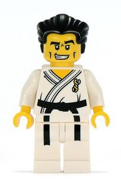 Minifigures Serie 2 - Karate Master