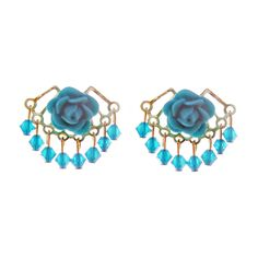 Fab.com | Earrings Blue Steel