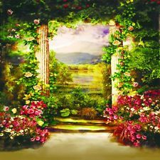 Digital Outdoor Children Photography Fantasy Backgrounds Backdrops Pictures 4th Of July
