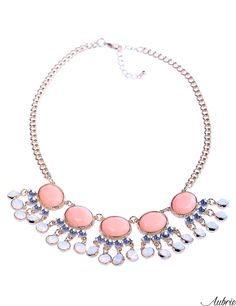 #aubrie #aubriepl #aubrie_necklaces #necklaces #necklace #jewelery #accessories #lacy #pastel #colorful #shine #crystal