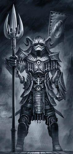 Star Wars Samurai art by artist Clinton Felker /// Stormtrooper