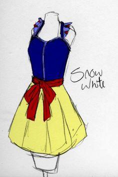 Disney apron ~ Snow White