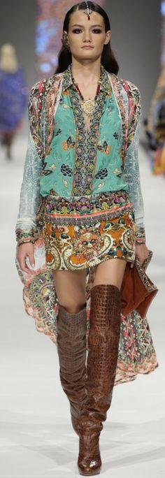 "Camilla Franks dresses NICKY in her version of ""Boho Gypsy"" Gypsy Style, Boho Gypsy, Hippie Style, Style Me, Boho Style, Bohemian Look, Boho Chic, Cheap Prom Dresses Uk, Estilo Hippie Chic"