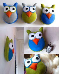 Doejij creaties: ♥ Super uilen!