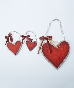 Look at this 14.8'' Parchment Heart Wall Décor on #zulily today!