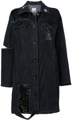 Sjyp embellished oversized jacket
