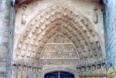 Catedral de Avila. Portada de los Apóstoles (tímpano) Autor: Autor Anónimo Fecha: Siglo XIII