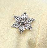 From Her Majesty's Jewel Vault: The Six Petal Diamond Flower Brooch