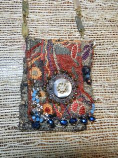 Boho Bohemian Inspired Amulet bag Necklace on by AltardArtifacts, $120.00
