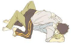 Fai and Kurogane from Reservoir Chronicle: Tsubasa