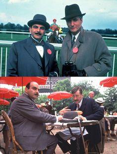 Agatha Christie's Poirot: photos, 1989—2004 || British actor David Suchet