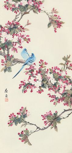 peach blossom flower drawing - Google Search
