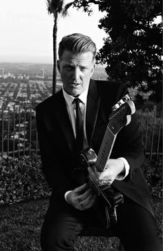 Josh Homme by Hedi Slimane for Saint Laurent He has in incredible style in everything he does