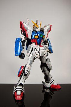 GUNDAM GUY: MG 1/100 Shining Gundam Evolve - Customized Build