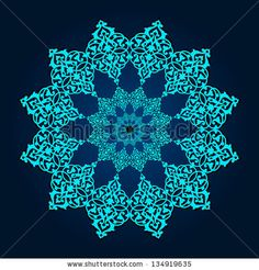 Traditional Persian-Islamic Pattern by Persian Graphics Studio, via ShutterStock