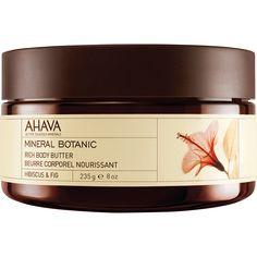 AHAVA® - Mineral Botanic Body Butter - Hibiscus & Fig