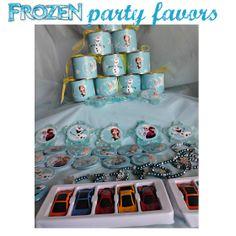 Τα δωράκια του Frozen Party μας!