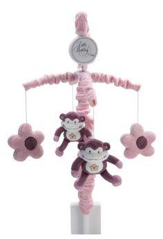 NoJo Sweet Jungle Babies Mobile - #DiaperscomNursery