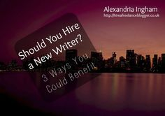 Is it ever worth hiring a new freelance writer? Just because the writer is new to online work doesn't mean they can't handle the job. Here's a look at three reasons a new writer could be perfect for you.  http://amp.gs/Zurd