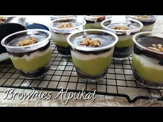 Pudding Desserts, Dessert Recipes, Puding Oreo, Brownies Kukus, Dessert Boxes, Avocado Brownies, Oreo Cheesecake, Indonesian Food, Rice Recipes
