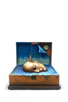 LA MEMORIA DEL NAVEGANTE, Galeria Sergio Bustamante - Sitio Oficial - Official Website