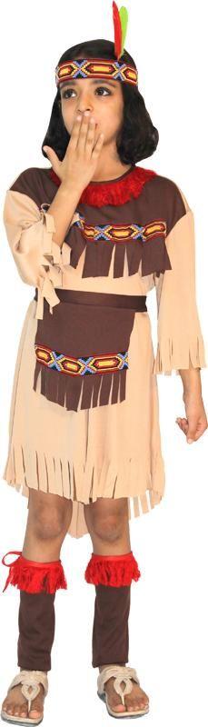 Préparez le prochain carnaval avec ce déguisement complet d'#Indienne pour fille de 4 à 10 ans. A voir en détail sur www.un-air-de-fetes.com !