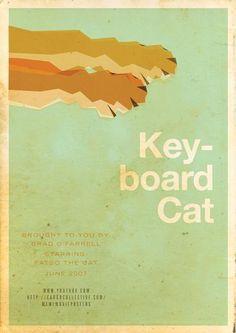 Stefan van Zoggel: meme movie poster Keyboard Cat.