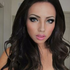 promise tamang, make up artist, the look:  adriana lima