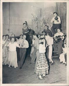 square dance 1948, This was much like we did