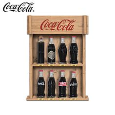 The COCA-COLA Replica Bottle Figurine Collection with collection trading cards