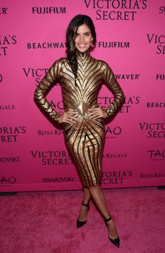 Sara Sampaio Photos - Sara Sampaio attends the 2015 Victoria's Secret Fashion After Party at TAO Downtown on November 2015 in New York City. - 2015 Victoria's Secret Fashion After Party - Pink Carpet Arrivals Sara Sampaio, Celebrity Dresses, Celebrity Style, Fashion Shows 2015, Women's Fashion, Pink Carpet, Famous Stars, Victoria Secret Fashion Show, Celebs