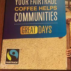 Doing it for Fairtrade Shepherds Bush, Greggs, Fair Trade, Company Logo, Logos, Instagram Posts, Logo