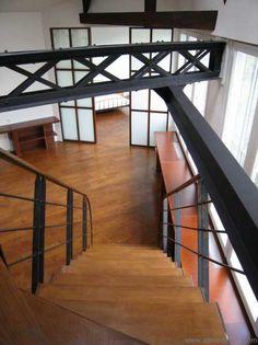 transformation d 39 un garage en loft a la madeleine id es pour la maison pinterest maison. Black Bedroom Furniture Sets. Home Design Ideas