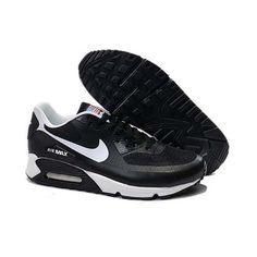 Negozio Nike Air Max 90 Hypferfuse Nere Bianche Uomo Scarpe b21e6360a28