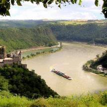 Castle Katz on the Rhine River in Germany - Been here on this tour!