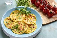 Tricolore omeletjes
