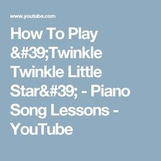 how to play twinkle twinkle on the keyboard