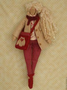 Куклы Тильды ручной работы. Ярмарка Мастеров - ручная работа. Купить Повтор работы Кукла в стиле Тильда. Handmade. Кукла