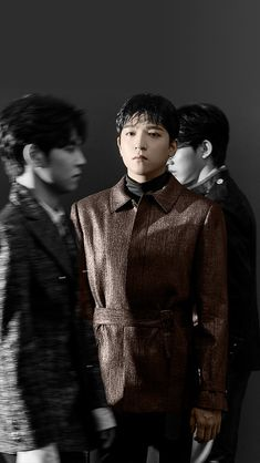 Sungjin - The Demon Park Sung Jin, Young K, Day6, Shinee, Singing, Black And White, Movie Posters, Fictional Characters, Grey Scale