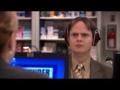 Jim and Pam learn Morse Code and this annoys Dwight, being a well trained Morse Coder himself.    *I don't own The Office, NBC does.