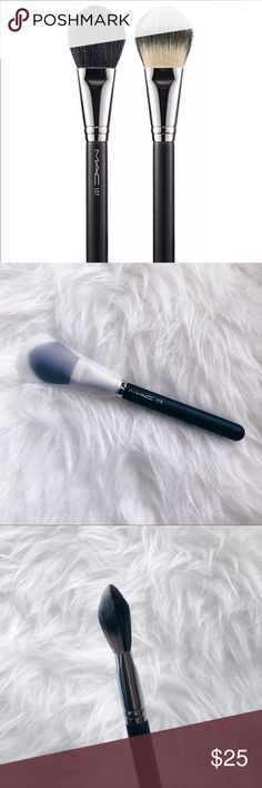 ✨MAC Cosmetics Makeup 127S Split Fibre Face Brush✨ New, never used. The 127 Split Fibre Face Brush is a double-agent face brush that features a special combination of 50% natural fibers and 50% synthetic fibers to deliver two unique results on the skin. The natural side provides a soft, diffused look while the synthetic fibers fuse color onto skin for a polished, luminous complexion. M·A·C professional brushes are hand-sculpted and assembled using the finest quality materials. They feature…