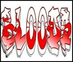 Blood is a symbol representing a certain gang, usually african americans. They are identified by their color, clothing and acts of violence. These gangs make the common public intimidated to even wear the color red. Red Bandana Shoes, Gangster Drawings, Mack 10, Blood Wallpaper, Drawing Blood, Lowrider Art, Blood Art, Strange Music, Street Art